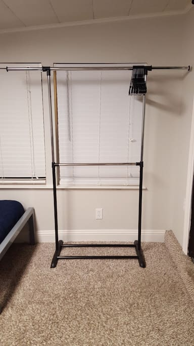 A rack to hang your clothes