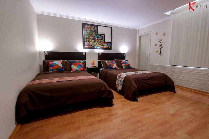 Hostal Kolibri B&B Habitación Cuádruple