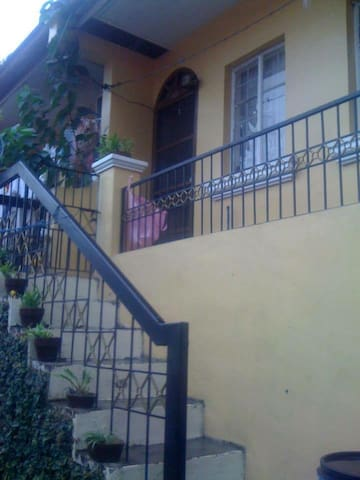 Big Self Contained Loft in front Hinulugang Taktak