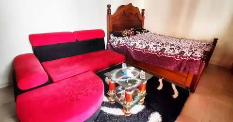 Une chambre privée à Nongo