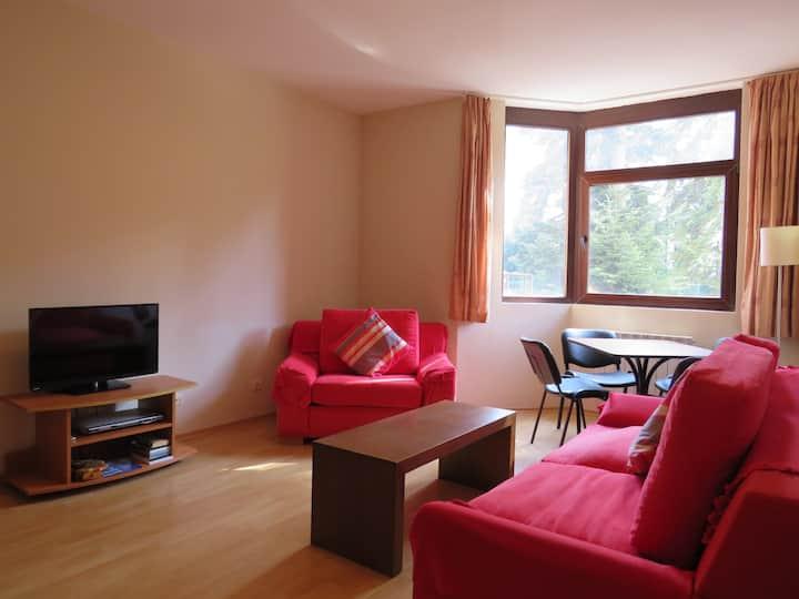 Borovets Flora 1 bedroom apartment - resort centre