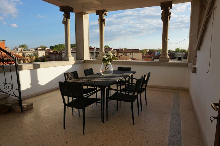 Venetian Penthouse Apartment - Lido - Apartamento