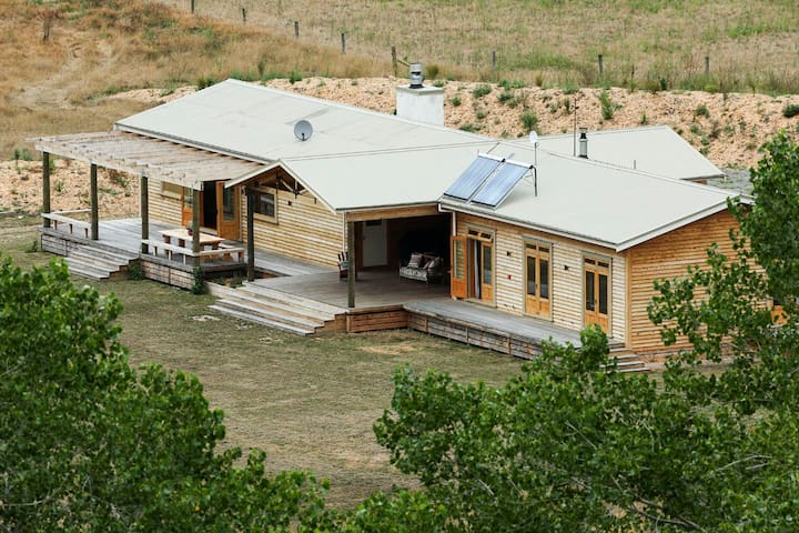 First views of the Lodge