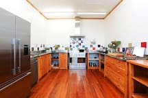 Spacious kitchen with all you could ever wish for.