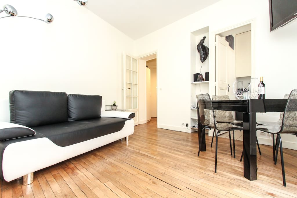 2 bedroom in paris 12 Bastille