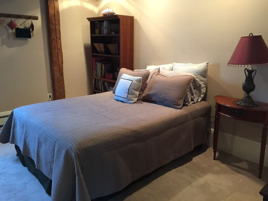 Suite Sleeps 5, Queen Bed, plus single bed, plus futon for 2