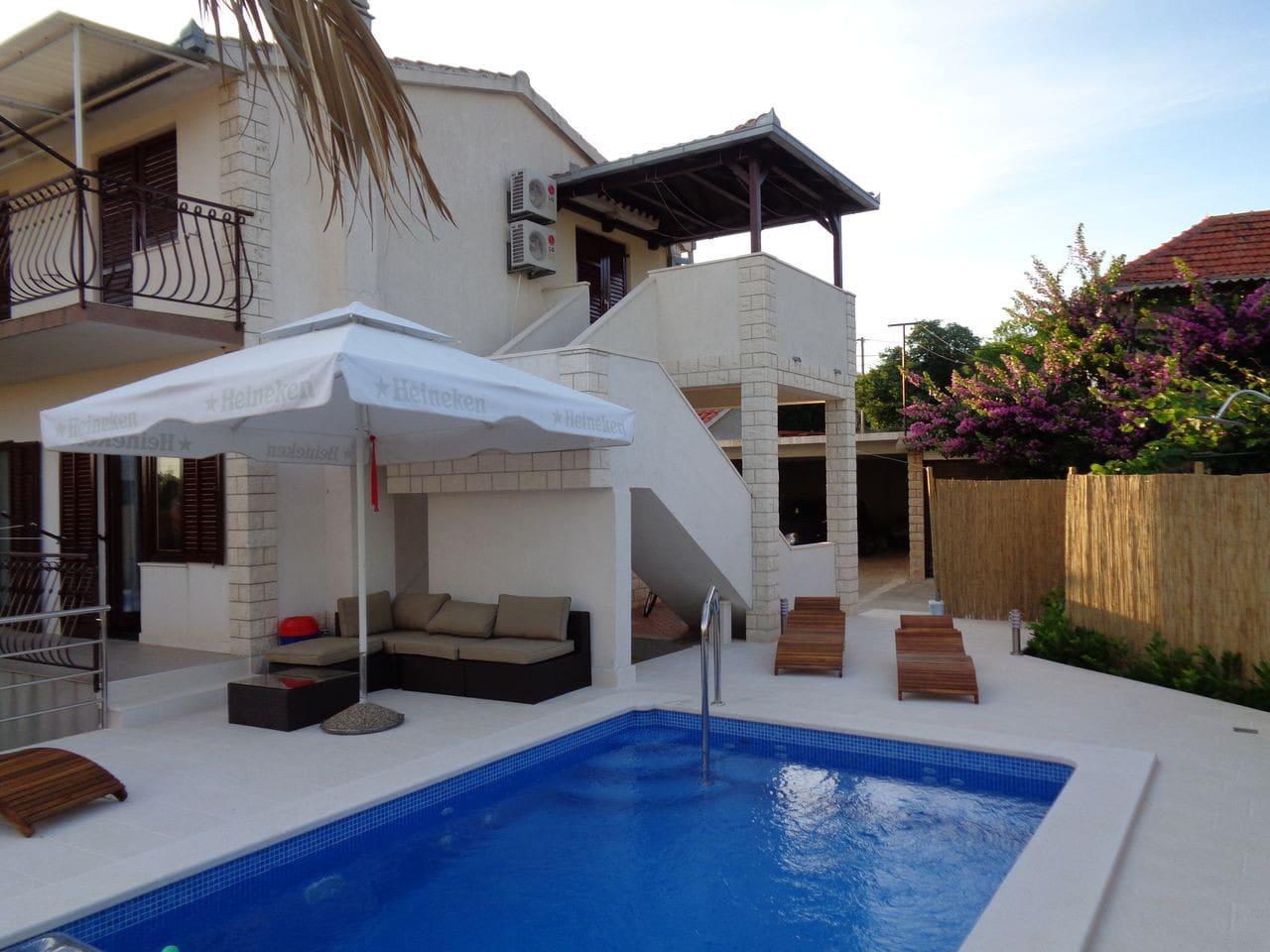 Terrace outdoor furniture.