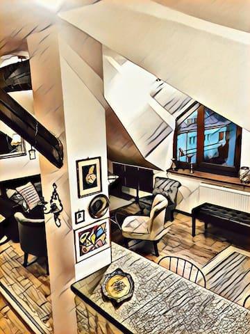 Mat's Loft Suite