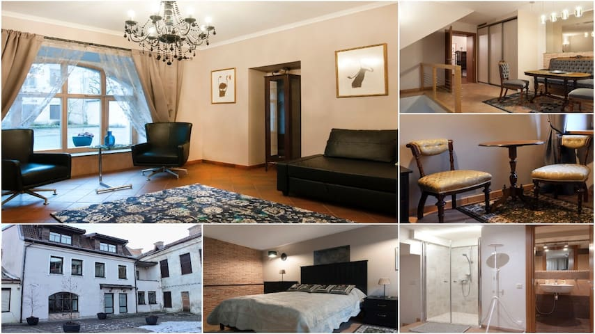 Modern Heritage Old Town apartment 60m2 & parking