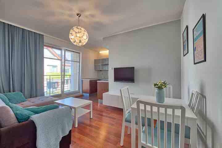 Happy Home Sopot - apartament  dla 4 osób+parking