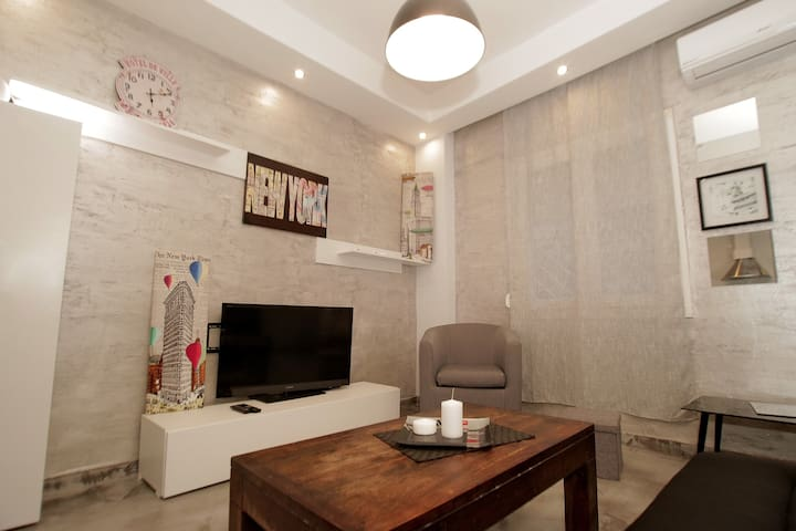 Urban Chic cozy flat in the (Website hidden by Airbnb) cleaning fee