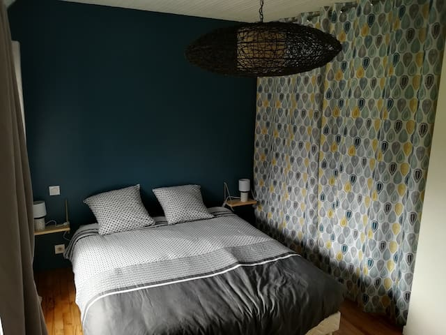 Chambre 1, lit double 160x200