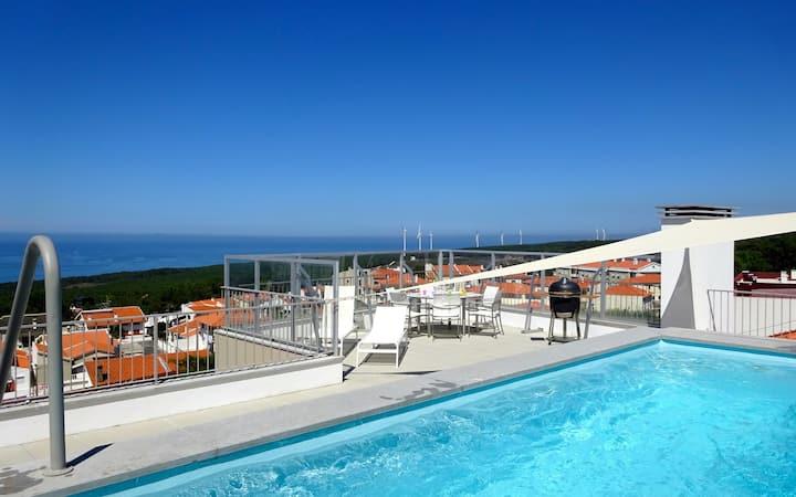 Penthouse met privé zwembad