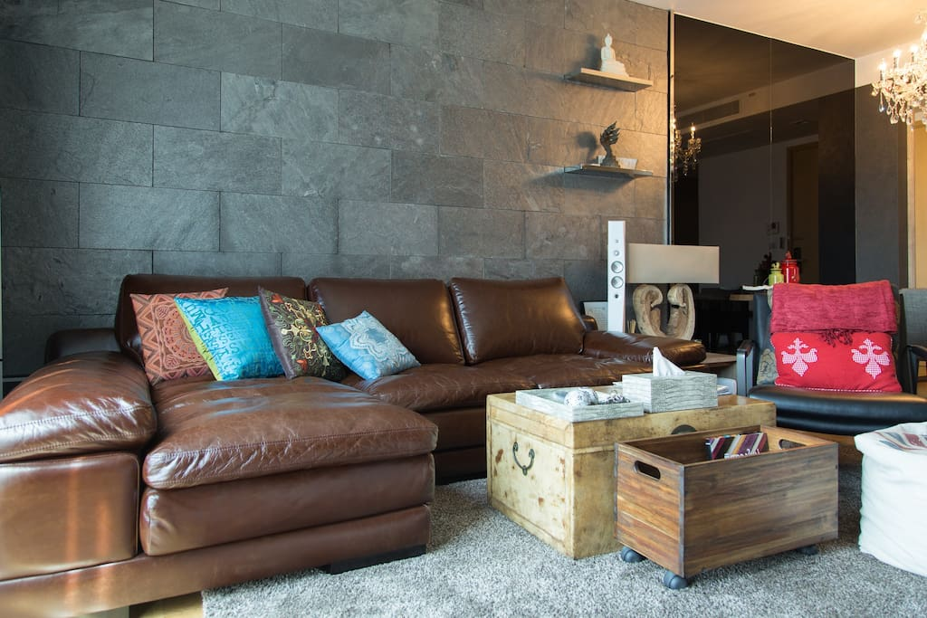 Comfy sofa & stylish furniture