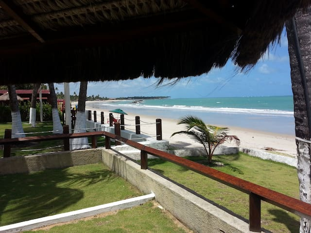 Wonderful house in front of beach - Tamandaré - House