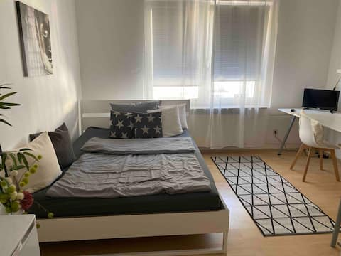Beautiful 1-room apartment, very centrally located, close to the center