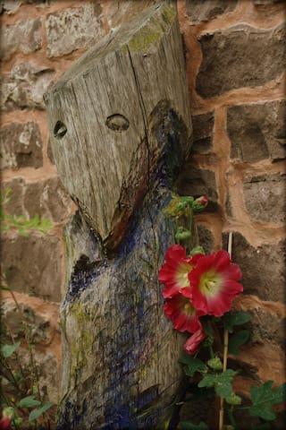 Garten-Detail, Wächter