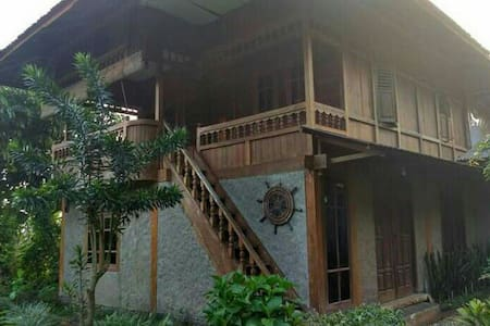 This Villa is a traditional house from Manado