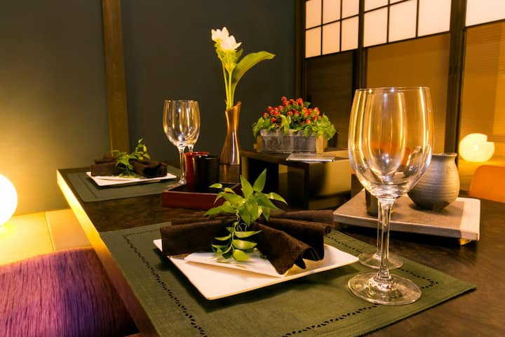 Kyoto Private Villa,5mins to Nijo Stn