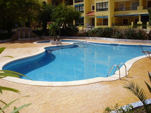 1 Bedroom Apt.Sleeps 4 S/Pool,WIFI - Torre La Mata - Apartamento