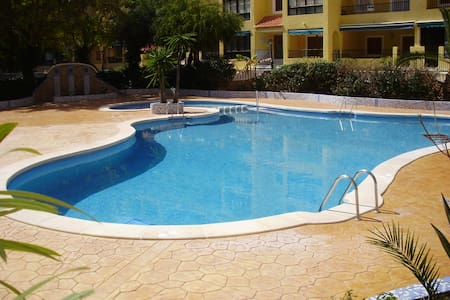 1 Bedroom Apt.Sleeps 4 S/Pool,WIFI - Torre La Mata