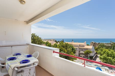 Beach Apartment with pool -sea view - Porches - Apartemen