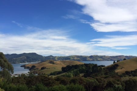 Treetop Cottage, Otago Peninsula