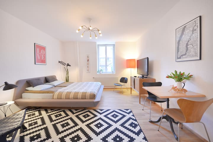Designer studio apartment in Bern - Breitenrain