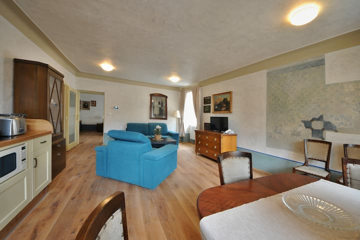 Stylish aparment for 5 people near the castle