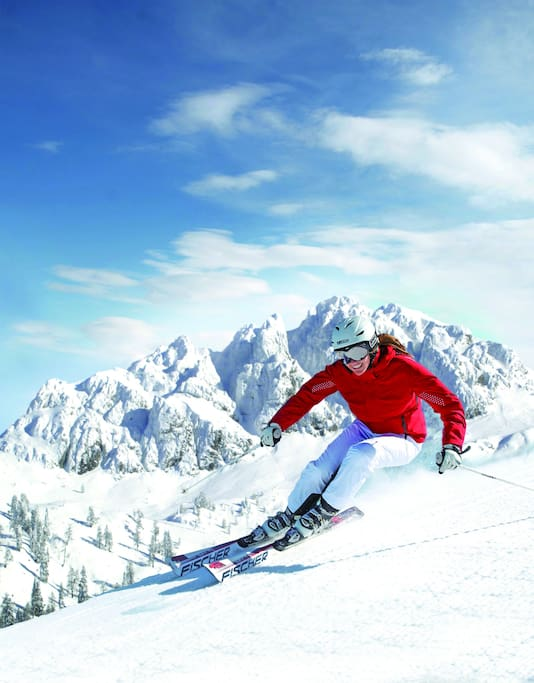 Skifahren!