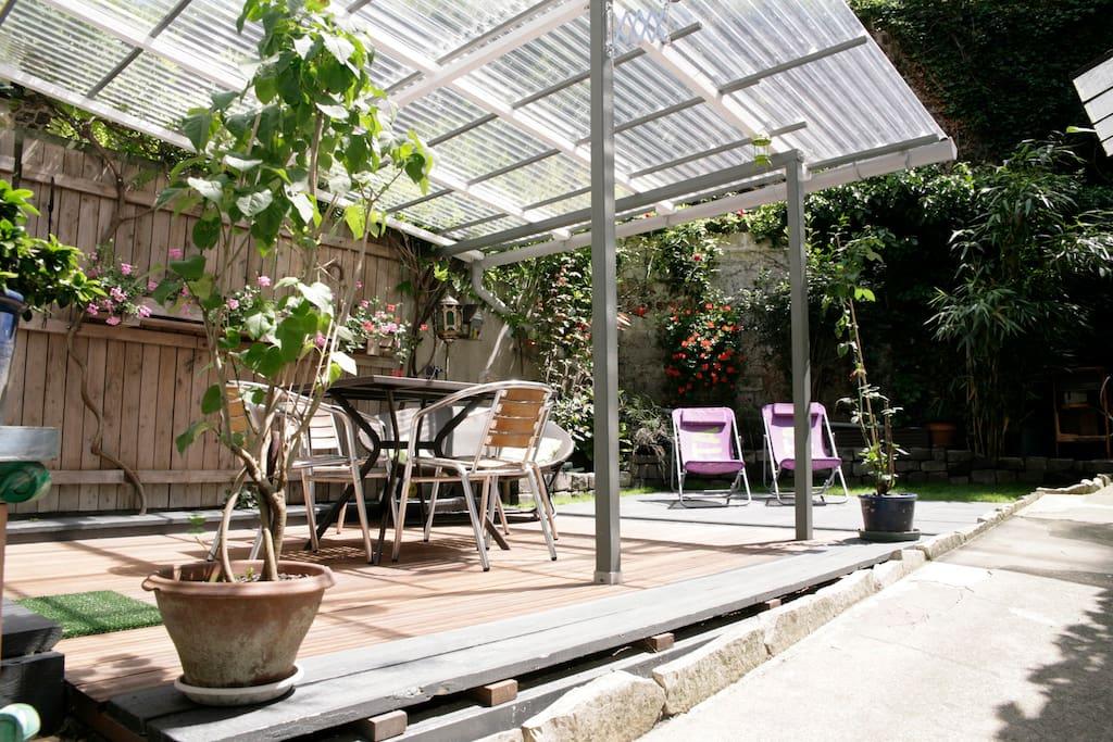 Jolie maison avec jardin privatif maisons louer - Maison a louer avec jardin wasquehal dijon ...