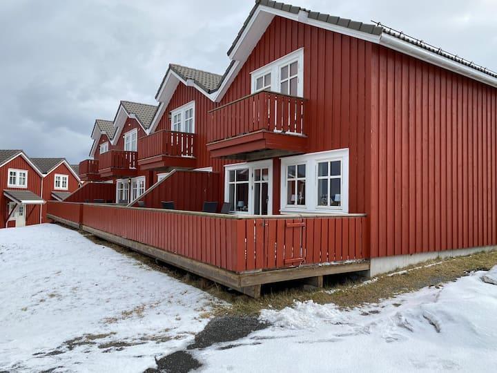 Flott rorbu sentralt på Kjerringøy