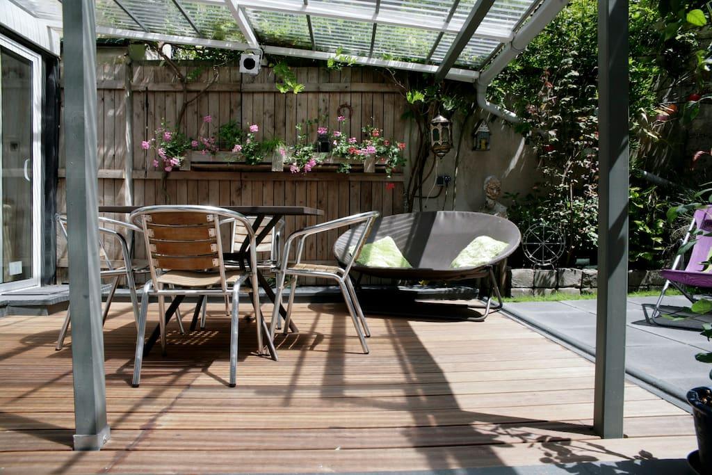 Jolie maison avec jardin privatif maisons louer for Jardin a louer ile de france