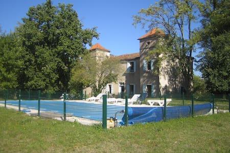Très beau manoir avec piscine - Castle