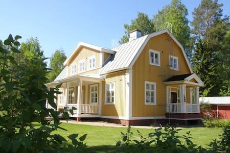 Big, charming house on countryside