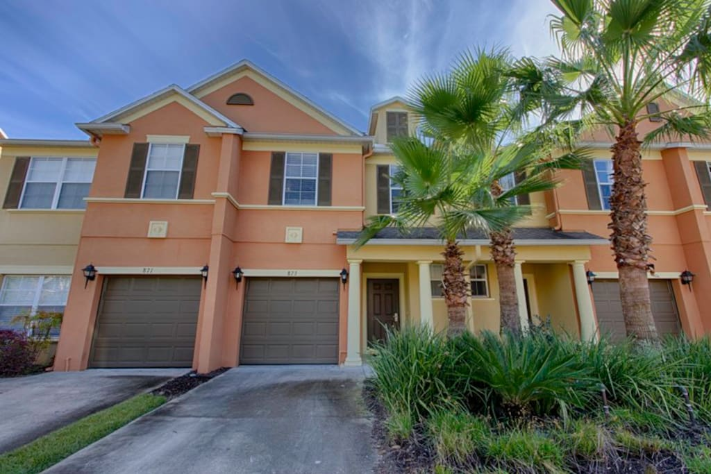 Cozy Retreat 3 Bedroom Reunion Resort Amazing Houses For Rent In Kissimmee Florida United
