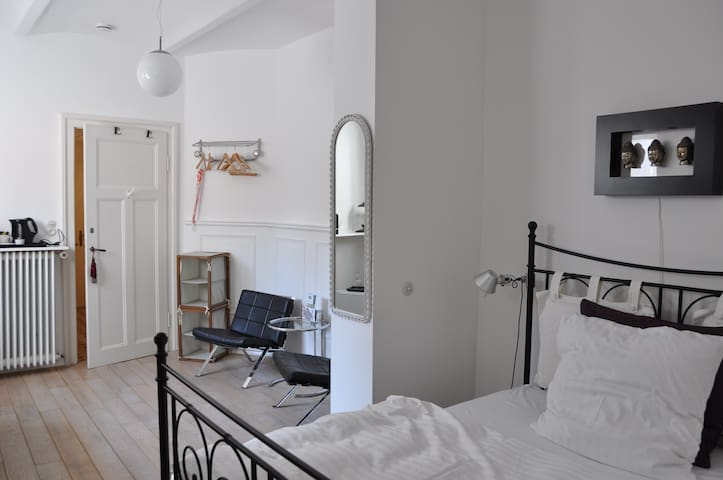 B & B  Zimmer in alter Villa - Wiesbaden - Bed & Breakfast