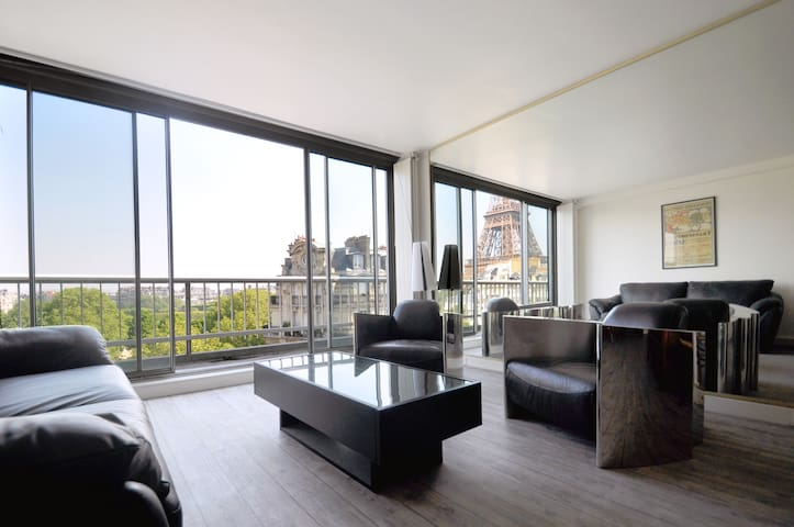EIFFEL TOWER APT, STUNNING VIEW - Paris - Apartemen