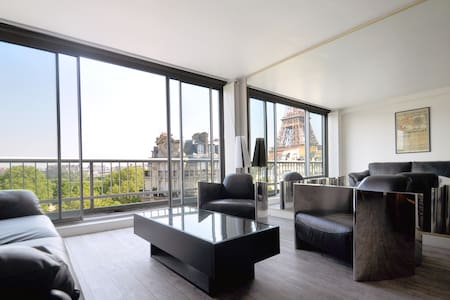 EIFFEL TOWER APT, STUNNING VIEW - Paris - Lägenhet
