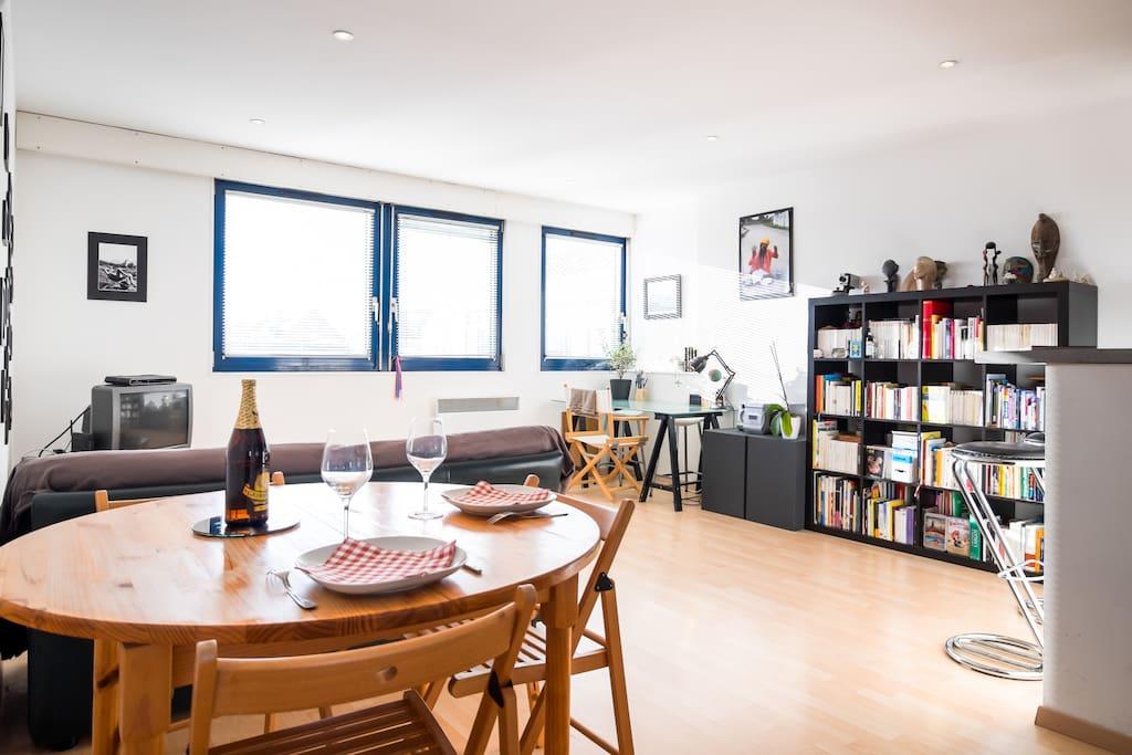 charmant t2 vieux lille 2 4 pers appartements louer lille nord pas de calais france. Black Bedroom Furniture Sets. Home Design Ideas