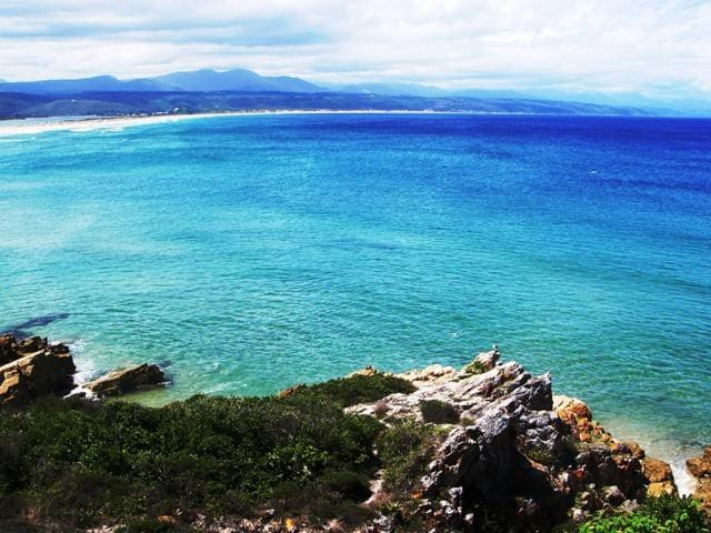 Hideaway a few steps from Plett's best beach