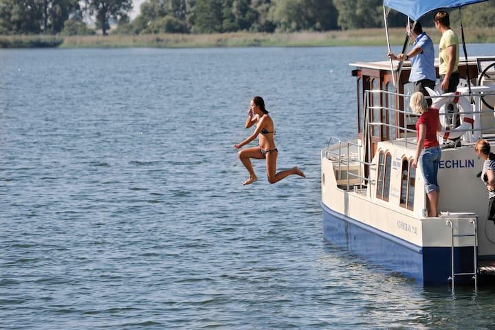 Abenteuer Hausboot - Zeuthen - Łódź