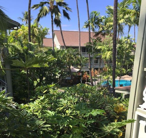 Cool & Quiet Contemporary at Kona Islander Inn