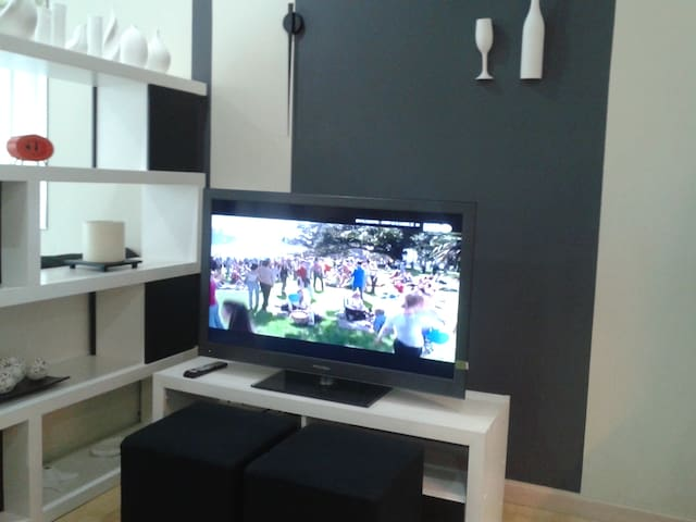 Full entertainment center with wireless  internet