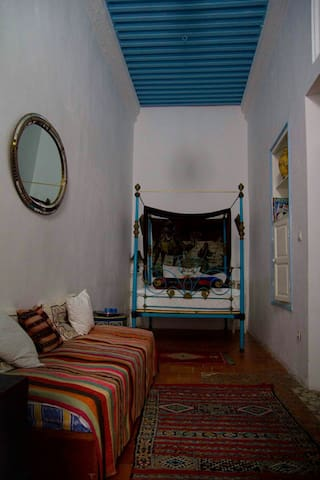 MAISON MAROCAINE TRADITIONNELLE Camel room