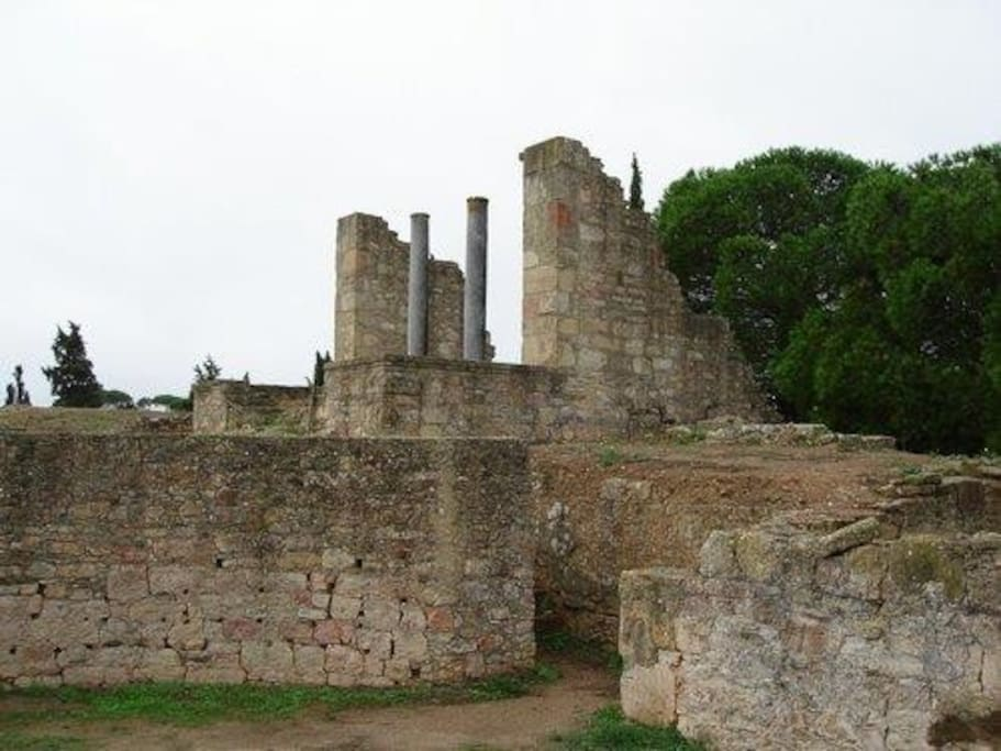 Roman ruins to visit just one mile away