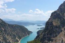 Θέα από τον ποταμό Αχελώος 2
