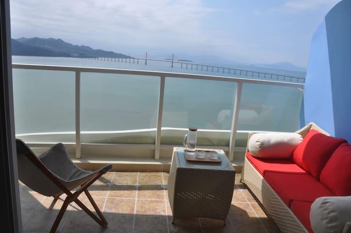 惠州惠东巽寮湾高级海景度假村公寓 - Huizhou - Daire