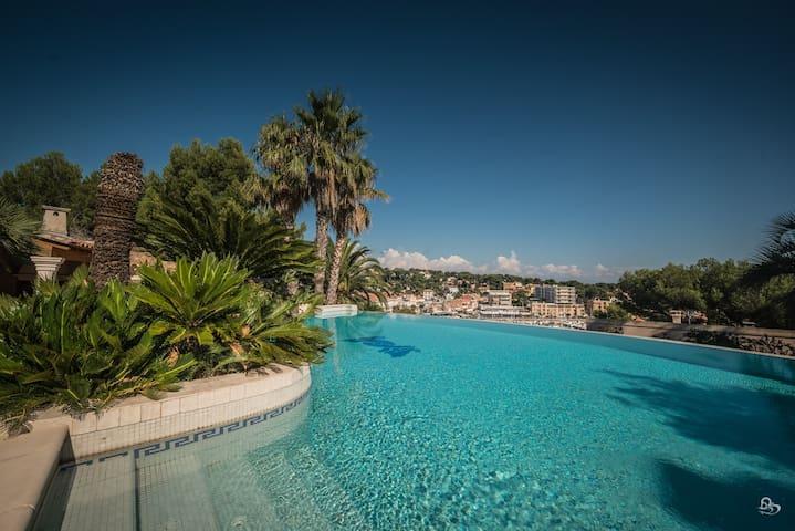 villa vue mer avec piscine - Carry-le-Rouet - Haus