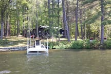 Just steps from your own dock!